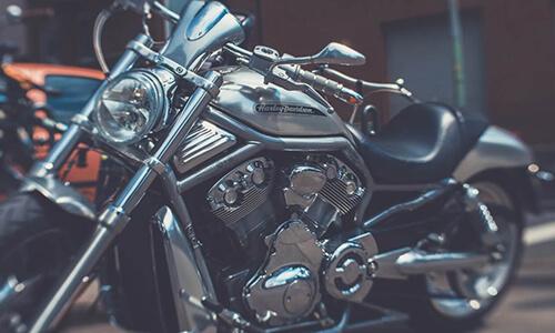 Motorcykel vinteropbevaring
